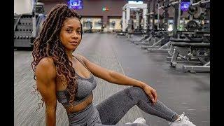 Black Female Fitness Motivation -- TAKE IT TO THE GYM