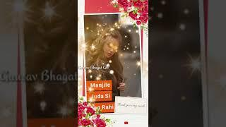 New female version fullscreen whatsapp status video Wafa ne Bewfai new sad female version song