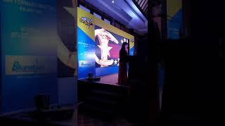 Anchor Pratiksha Dave corporate show of BPCL  best anchor udaipur female  anchoring