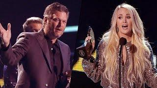 CMT Awards 2018: Carrie Underwood wins Best Female Music video as Blake Shelton earns top honor