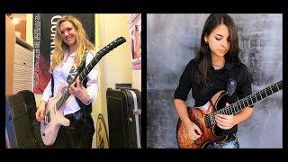 Mind Blowing Female Guitarist SHRED OFF! Noemi Terrasi  Italy Vs  Polina Sedova Russia!