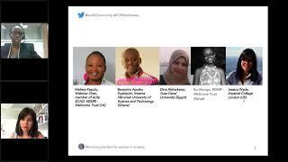 eLife Community Webinar Series – Removing Barriers for Women in Science