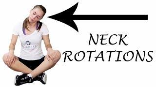 Perfect Workout for your Neck - Neck Rotations - Female