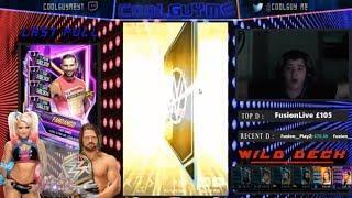 LIVE NEON FEMALE PULL!!! & PLATINUM PACK!!  |  WWE Supercard #6 (Season 5)