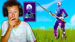 UNLOCKING FEMALE GALAXY SKIN IN FORTNITE & SURPRISING MY LITTLE BROTHER!