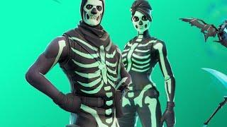 FORTNITE MALE & FEMALE SKULL TROOPER OUT