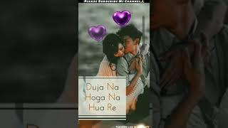 Full Screen Status Love????????Song Female Version Full Screen Romantic WhatsApp Status