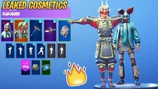 *NEW* Fortnite LEAKED Skins & Emotes..!  (Giddy-Up Female, Crazy Feet, Cute Skins...)