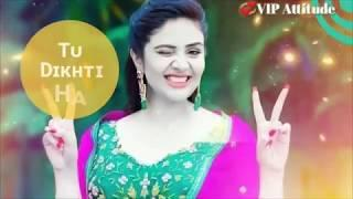 Female Version Sad + Love Song Full Screen Whatsapp Status Video || Punjabi Ringtone |STATUS OK||