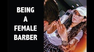 Being a female barber - The Hair Show EPS1