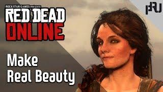 Make Real Beauty _ red dead online female Character