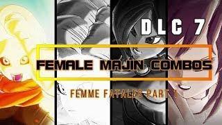New Female Majin Combos | DLC 7 | Dragon Ball Xenoverse 2