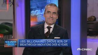Number of female billionaires is growing: UBS' Stadler   Squawk Box Europe