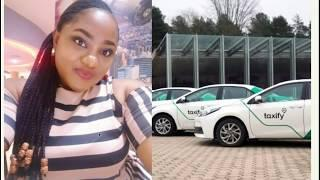 Female taxify driver and crippled woman fight it out