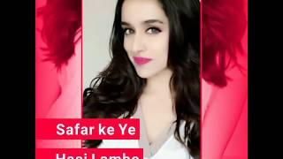 ❤❤Cute Shraddha Kapoor New Female Version WhatsApp Status Video  Full Screen