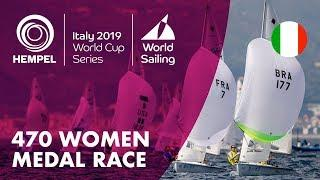 470 Women Medal Race | Hempel World Cup Series Genoa 2019