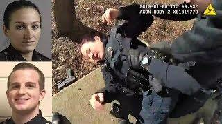 Body Cams Cop Shot Female Officer. Lafayette Police Department