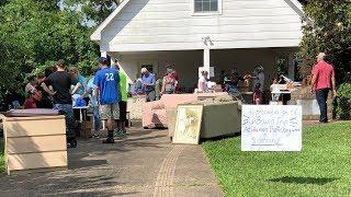 COMMUNITY GARAGE SALE - WHY ARE YOU WEARING A GOPRO?