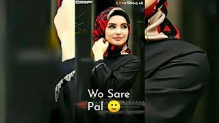 Female Sad + Love Song Full Screen Whatsapp Status Video || Tere Bin Ye Sare Mausam ||Love Status 4U
