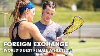 Two of the world's best female athletes help push each other to next level.