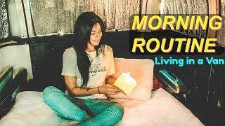 SOLO FEMALE VAN LIFE: My Morning routine ✨ 2018 | Hobo Ahle