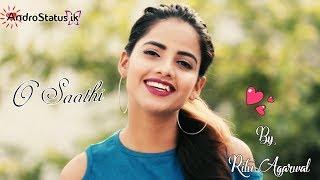 O Saathi female cover by Ritu Agarwal | video status | with download link | by AndroStatus ik