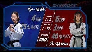 Final | Women -49kg |Min-Ah (KOR)HA VS bora kang(KOR)