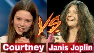 Janis Joplin vs Courtney Hadwin ALL Performance America's Got Talent 2018