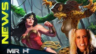 CHEETAH Stunt REVEALED In Leaked Set Video Wonder Woman 1984