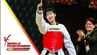 Taoyuan 2018 World Taekwondo GP-Final [female +67kg] Bianca WALKDEN(GBR) vs Da-Bin LEE(KOR)