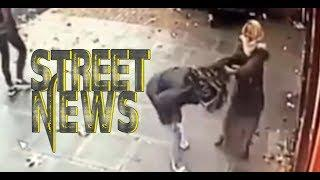 Female Cashpoint Robber LOSES her WIG/ Victim fights back+Bouncers Beat up Clubber #ScarcityNews