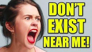 Top 5 ANNOYING Crazy Lady Freakouts! (Woman LOSES It Over Ticket, Car Freakout)