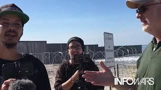 Antifa Degenerates Curse Out Female Reporter At The Border