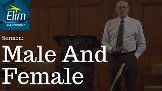 Male And Female (Genesis 1 26-31) - Pastor Denver Michael - Cullybackey Elim Church