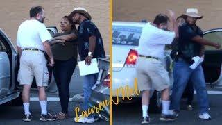 PROTECT THE BLACK WOMAN! ✊ Stranger Protects Pregnant Black Female At Leesburg FL Walmart