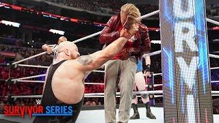 Drake Maverick wets himself after Big Show's attack: Survivor Series 2018 (WWE Network Exclusive)