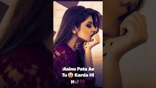 Female Version Sad + Love Song Full Screen Whatsapp Status Video || Punjabi Status | Sohnea