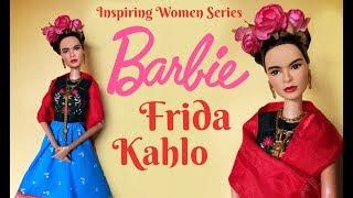 FRIDA KAHLO BARBIE - Inspiring Women Series 2018 Doll REVIEW