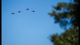 USNI News Video: All-Female Flyover Honors Passing of First Woman Jet Pilot