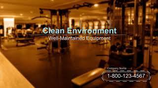 Gym Fitness Center Equipment Demo Marketing Local Business Video Female
