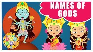 Learn Names of Indian Gods - Female | Informative Video for Kids | Cartoon Doo Doo TV