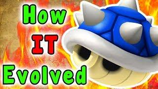Super Mario - Evolution Of The SPIKED/BLUE SHELL Power Up (1990 - 2019)