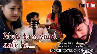 Mujhe Tum Yaad Aate Ho New Female Version | Sad   Song | Cover Video By Richiboy Production
