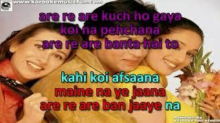 Are Re Are Re Kya Hua Semi Vocal Female Video Karaoke With Lyrics