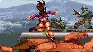 MUGEN Minotaur VS Female Video Game Characters Compilation #2
