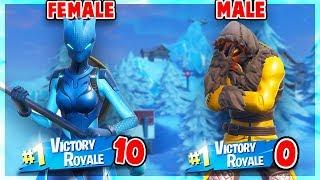 This Video Is Proof That FEMALE SKINS ARE BETTER THAN MALE SKINS