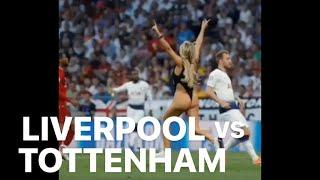 Vitaly Reacts GF Pitch Invasion: Liverpool vs. Tottenham Champions League Final Highlights Madrid