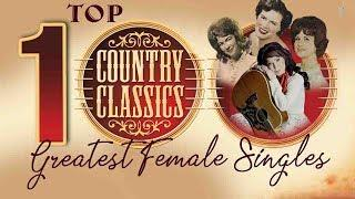 Top 100 Classic Country Songs By Female Country Singers - Greatest Old Country Music Hits Ever