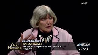 Oral Histories: Women in Congress - Pat Schroeder Preview