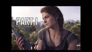 ASSASSIN'S CREED ODYSSEY Walkthrough Part 1 - FIRST 2 HOURS!!! (Let's Play Commentary)